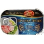 Cod-liver Best time canned 121g can Iceland