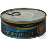 Cod-liver Best time canned 240g can Iceland