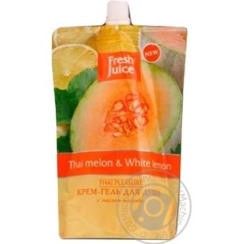 Гель для душа Fresh juice Дыня лимон дой-пак 170мл