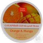Скраб для тела Fresh Juice Orange&Mango сахарный 225мл