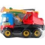 Игрушка Wader Middle truck кран 39226