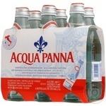 Still water Acqua Panna glass bottle 250ml Italy