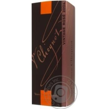 Шампанское Veuve Cliquot Ponsardin Vintage Rose Brut розовое сухое 12% 0,75л - купить, цены на Novus - фото 2