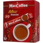 Beverage Maccoffee Max with coffee instant 320g stick sachet Singapore