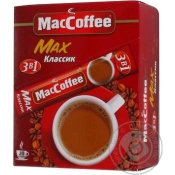 КАВА MACCOFFEE MAX 3В1 16Г*20С