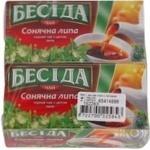 Tea Beseda black packed 26pcs 39g