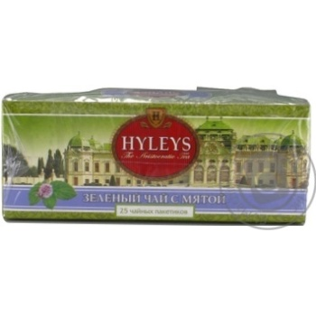 Чай Hyleys зеленый с мятой 25пак - купить, цены на МегаМаркет - фото 3