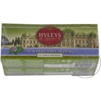 Чай Hyleys зеленый с мятой 25пак - купить, цены на МегаМаркет - фото 4