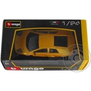 Машинка Play Smart Burago Lamborghini Murcielago 6510B - купить, цены на Фуршет - фото 4