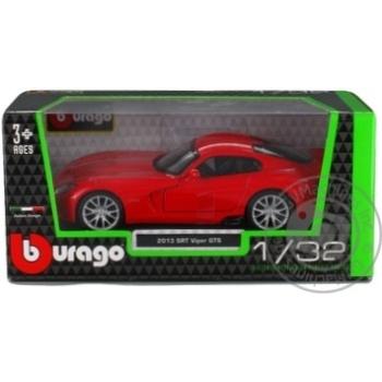 Автомодель Bburago SRT Viper GTS 1:32
