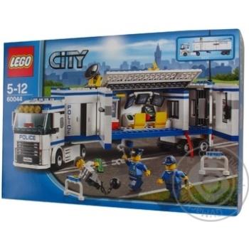 Конструктор Лего Сити полис Выездной отряд полиции для детей от 5 до 12 лет 375 деталей
