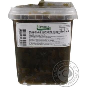 Bravita Seaweed marinated 1000g
