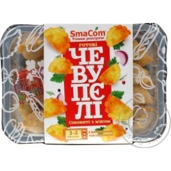 Чевупели SmaCom с мясом говядины и свинины 350г - купить, цены на Ашан - фото 1