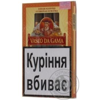 Сигары Vasco Da Gama Claro №2 - купить, цены на Novus - фото 1