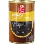 Fine Life Pitted Black Olive