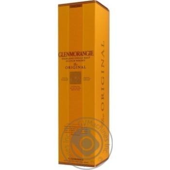 Виски Glenmorangie Original 10 лет 40% 1л - купить, цены на Метро - фото 3