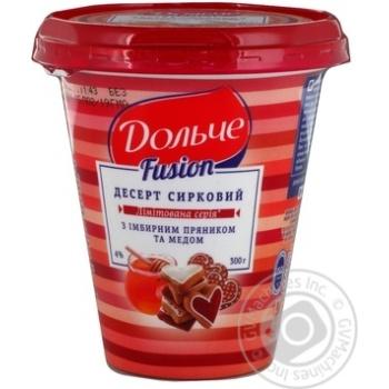 Десерт Дольче сирковий 4% 300г