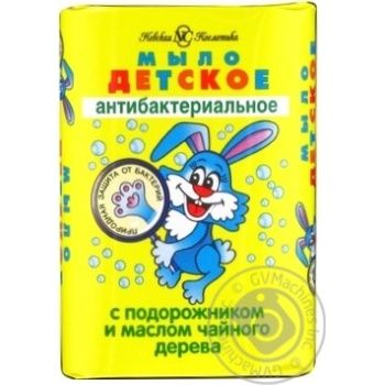 Мило Невська косметика дитяче антибактеріальне 90г - купити, ціни на МегаМаркет - фото 1