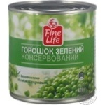 Fine Life Canned Green Pea