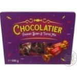 Конфеты Chocolatier ассорти с фруктово-йогуртовой начинкой и начинкой тоффи 180г - купить, цены на Novus - фото 1