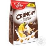 Sante Banana and Chocolate Cranchy 350g