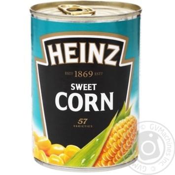 Кукуруза сахарная Heinz 400г - купить, цены на МегаМаркет - фото 1
