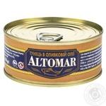 Тунець Altomar в оливковій олії 160г