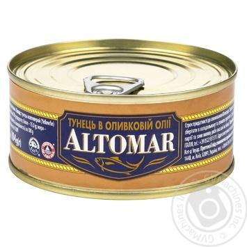 Altomar Tuna in Olive Oil 160g - buy, prices for CityMarket - photo 1