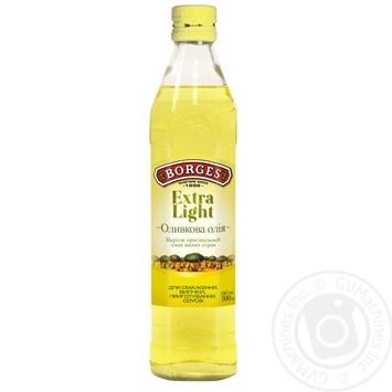 Олія оливкова Borges Extra Light 0,5л - купити, ціни на Novus - фото 1