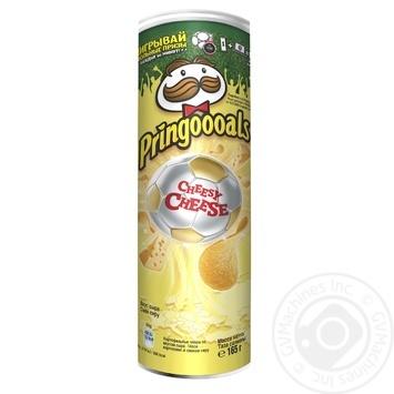 Чіпси Pringles Сир 165г - купити, ціни на МегаМаркет - фото 2