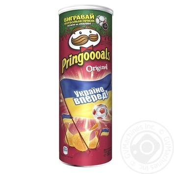 Чіпси Pringles Original 165г - купити, ціни на МегаМаркет - фото 2