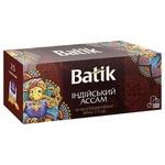 Чай черный Batik Индийский Ассам 25шт*1.5г
