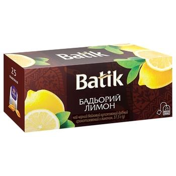 Batik Lively Lemon Black Tea 25g 37,5g - buy, prices for CityMarket - photo 1