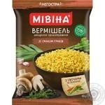 Вермішель Мівіна зі смаком грибів 60г - купити, ціни на Ашан - фото 1