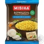 Вермишель МИВИНА® со вкусом Сыра и зелени неострая 60г - купить, цены на Таврия В - фото 1