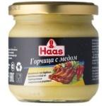 Гірчиця HAAS з медом 215г