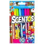 Scentos 40720 Scented Marker Set 10pcs