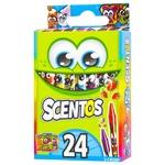 Scentos Fragrant Wax Pencils Set 24colors
