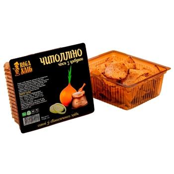 Чипсы Riga Хлеб Чиполлино cухарные с луком 110г - купить, цены на СитиМаркет - фото 1