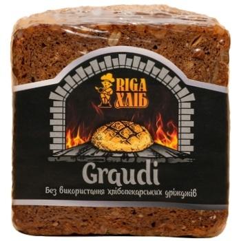Хлеб тостовый RIGA Graudi 300г - купить, цены на Ашан - фото 1