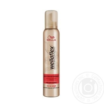 Wella Shockwaves Ultra Strong Hot Styling For Hair Mousse 200ml
