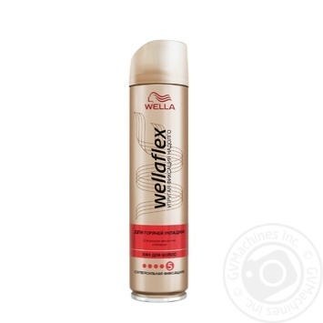 Lacquer Wellaflex to conclude 250ml