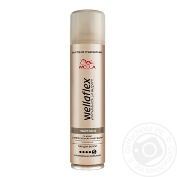 Лак для волос Wellaflex Классик суперсильная фиксация 400мл - купить, цены на Восторг - фото 1