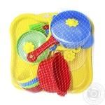 Игровой набор посуды для детей Тигрес Ромашка 19эл
