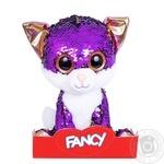 Fancy Kitten Amethyst Soft Toy