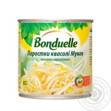 Паростки квасолі Бондюель Мунго 425мл - купити, ціни на Novus - фото 1