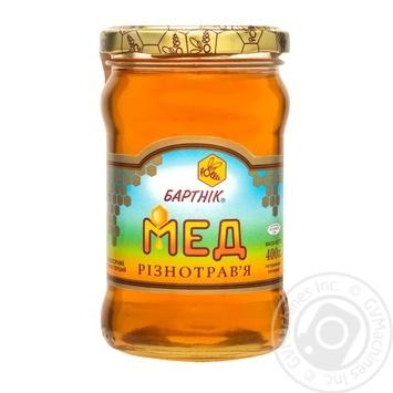 Мед цветочный разнотравье 400г Бартник - купить, цены на Novus - фото 1