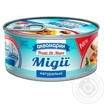 Мидии Аквамарин натуральные 185г - купить, цены на Novus - фото 2
