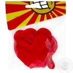 Svyato Mriy Hearts Inflatable Ball 6pc