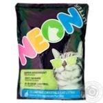 Neon Silicagel Green Cat Filler  4l